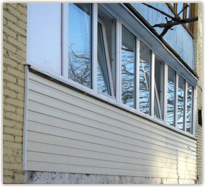 Застекление балконов 6 метров. - дизайнерские решения - ката.